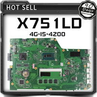 X751LD Laptop Motherboard For ASUS X751L K751L K751LN REV 2 0 Mainboard USB3 0 DDR3 With