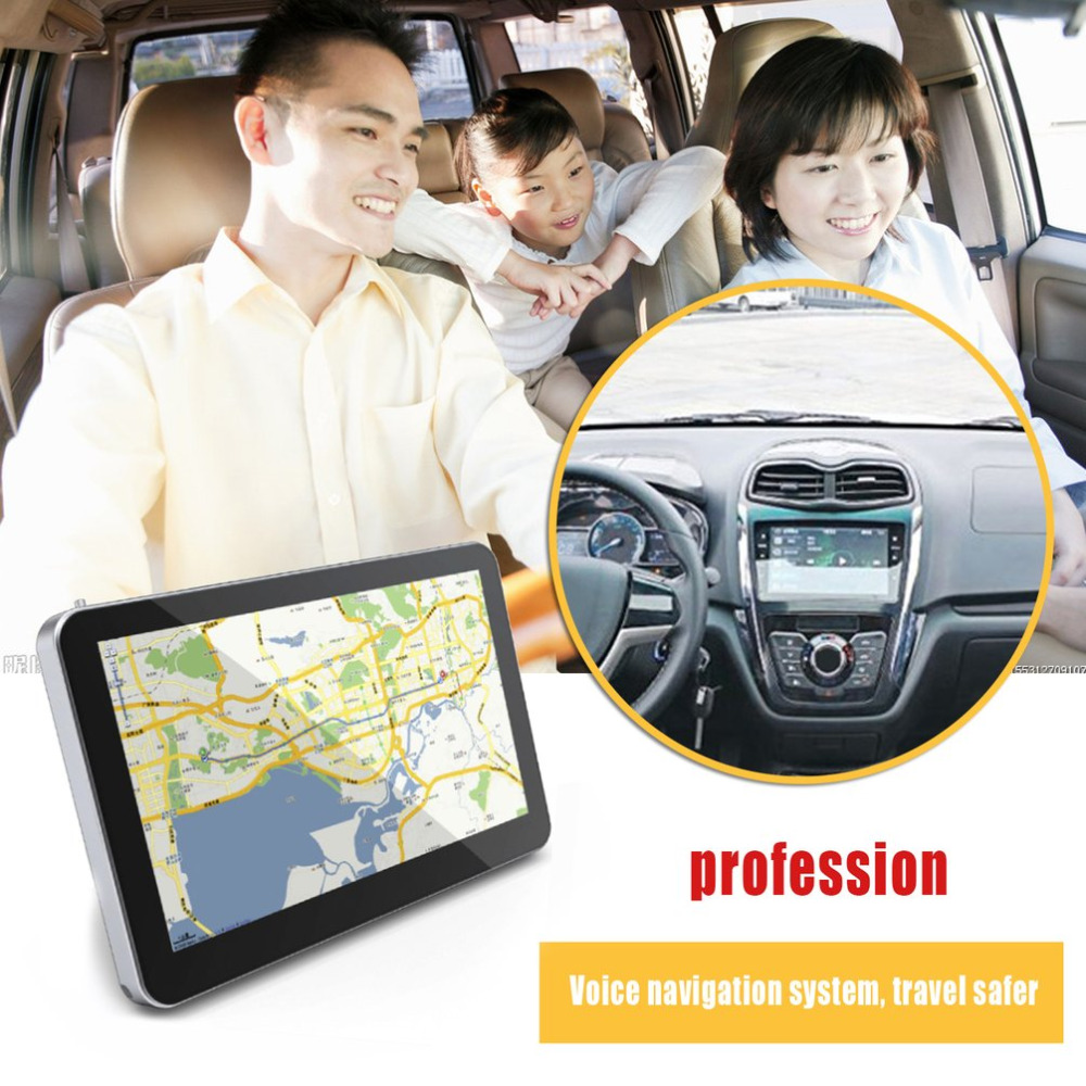 5-Inch Touch Screen 8GB Memory GPS America Map European Map Navigator 1800mAh Built-in Battery GPS Navigation Support TF Card 7 0 touch screen wince 6 0 mtk3351 gps navigator with fm 4gb tf card w europe map black