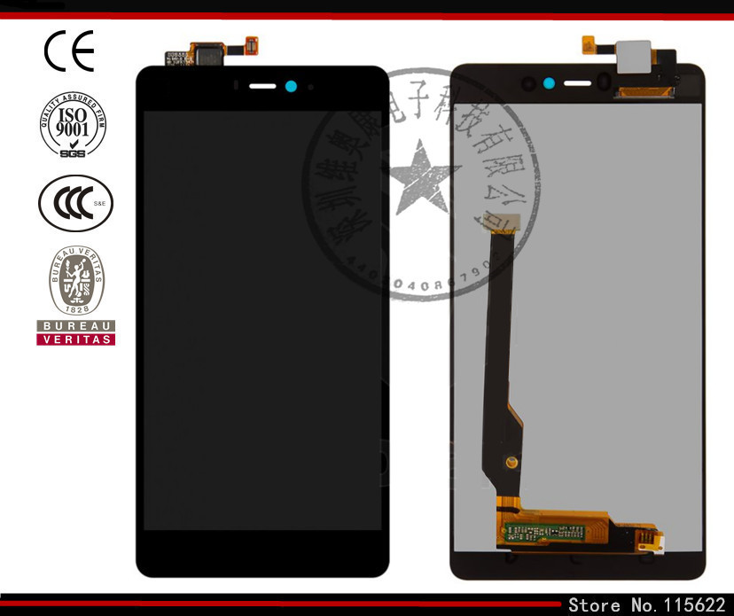 ФОТО LCD display screen for Xiaomi Mi4c Cell Phone, (black, original (PRC), with touchscreen,with Logo)