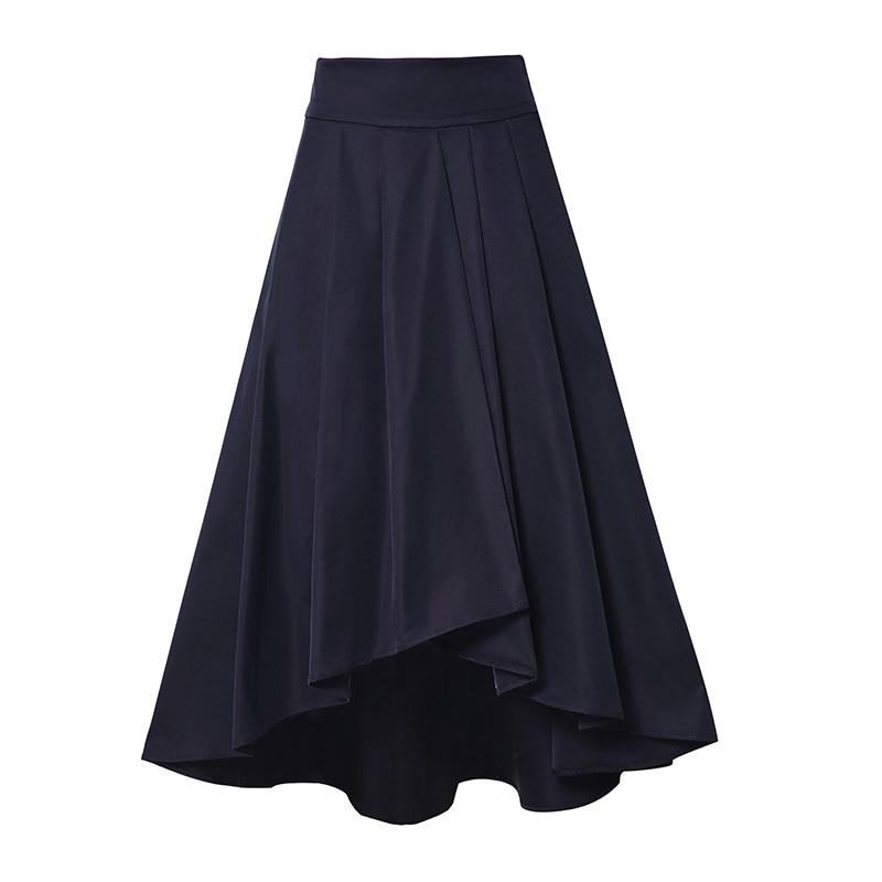 Satin Black Skirt Promotion-Shop for Promotional Satin Black Skirt ...