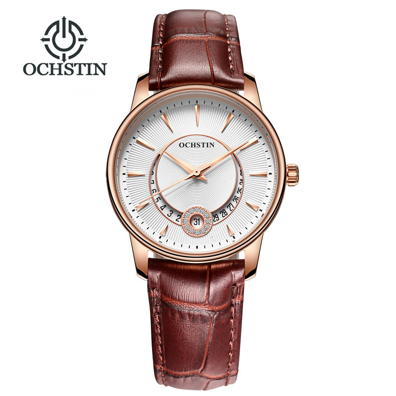 women watches Brand OCHSTIN Fashion quartz-watch Women's Wristwatch clock relojes mujer dress ladies watch Business montre femme tezer ladies fashion quartz watch women leather casual dress watches rose gold crystal relojes mujer montre femme ab2004