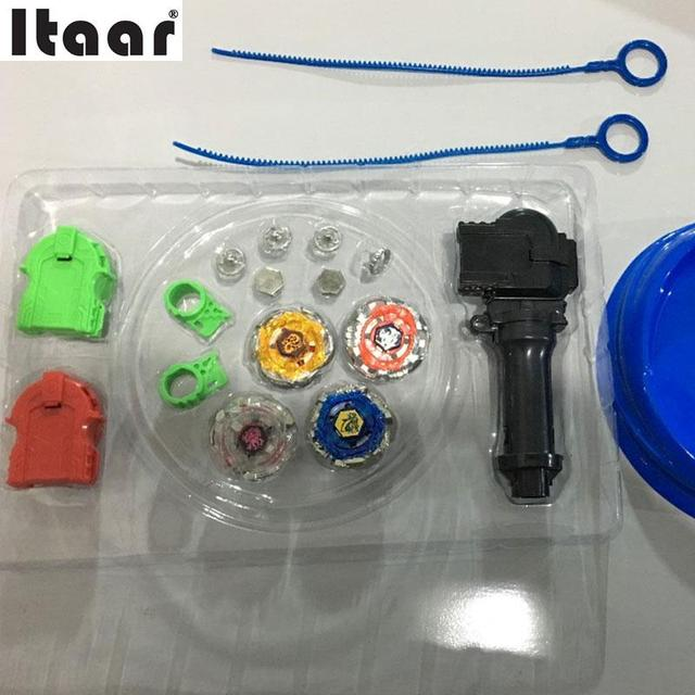 1PCs Beyblade Metal Fusion Gyro Beyblade W/Launcher Children Christmas Toys