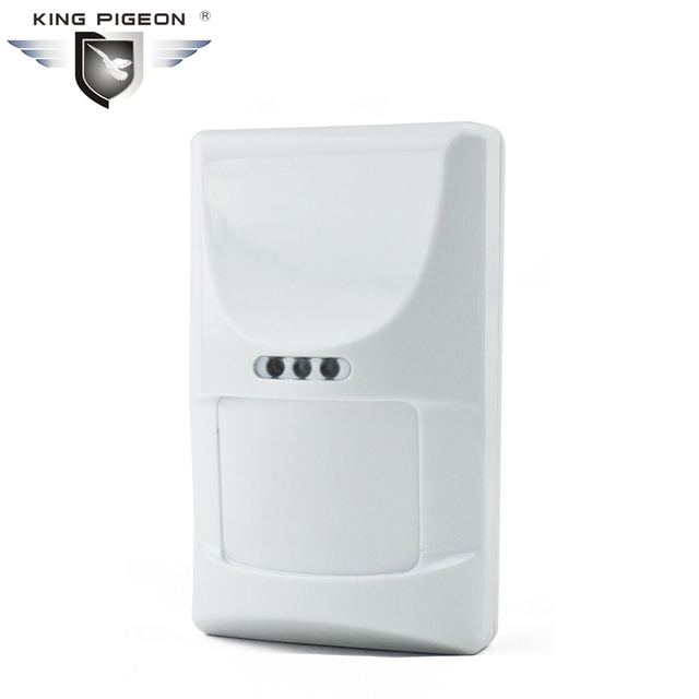 Wireless PIR Motion Sensor Passive Infrared Motion Detector for GSM PSTN Home Burglar Alarm System PIR-100B