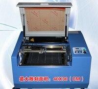Мини низкая мощность 40 Вт лазер 3040 ЧПУ маршрутизатор