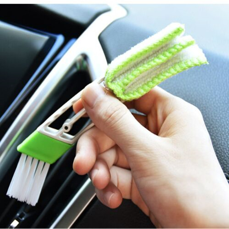 цена на CAR Window Clean Brush TOOL For Toyota RAV4 2013 2014 Camry 2012 Vios 2008 Honda Accord FIT CITY CRV LADA VW Car Styling