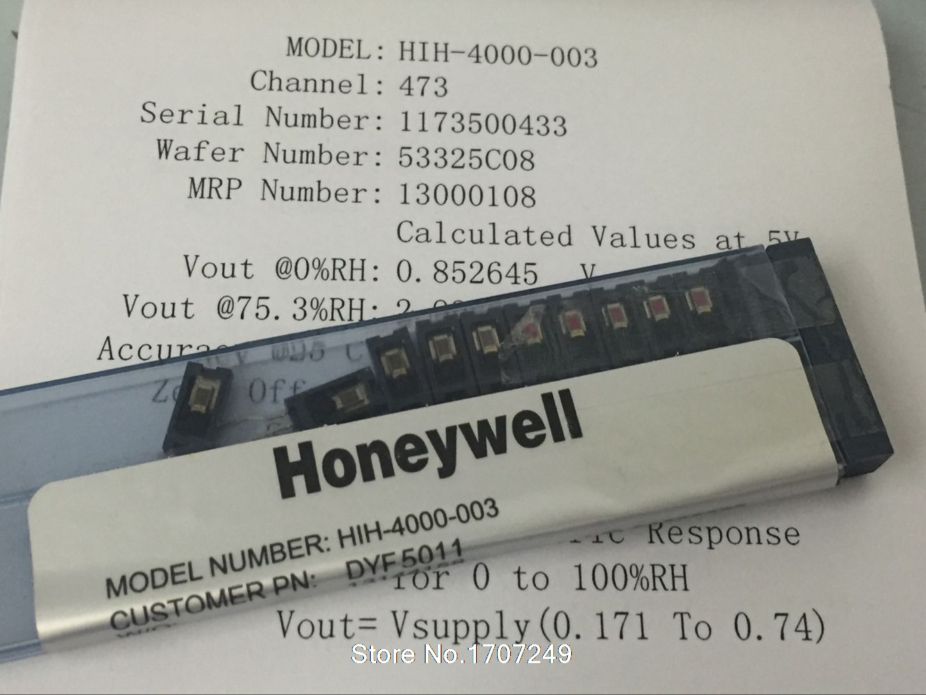Free shipping 10pcs lot HIH 4000 003 HIH 4000 HIH4000 SIP Humidity Sensors HIH4000 003 connector
