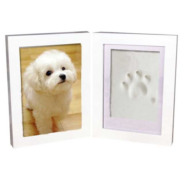 Pet Memorial Frameclay Set Paw Frame Diy Pet Print Kit Dog Paw