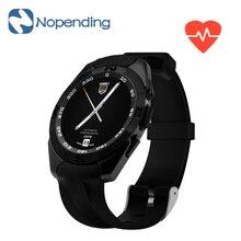 NUEVA Original N° 1 G5 Inteligente Reloj Smartwatch MTK2502 Física Pulsómetro Rastreador de Llamadas SMS Recordatorio Cámara para Android iOS