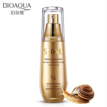 цена на BIOAQUA Snail Essence Repair Lotion Anti Wrinkle Whitening Face Cream Deep Moisturizing Essence Lotion 40ml Gift Package