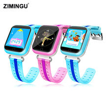 ZIMINGU 2017 Free Shipping Children's Smart Watch with 1.54 inch Touch Screen Call Wifi GPS+LBS Tracker Clock SOS for Kid Safe