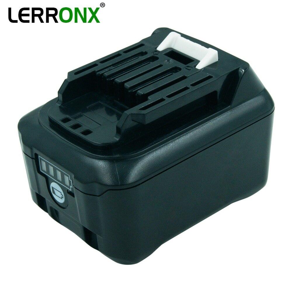 Substituição da bateria recarregável do íon de lerronx 10.8 v 4000 mah li para brocas sem fio de makita bateria bl1040 bl1015 bl1020b bl1041