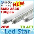 T8 Led Tubes 1200mm 28W 4FT Led Lights Tubes Double Grows SMD2835 Led Fluorescent Tubes Light AC 85-265V