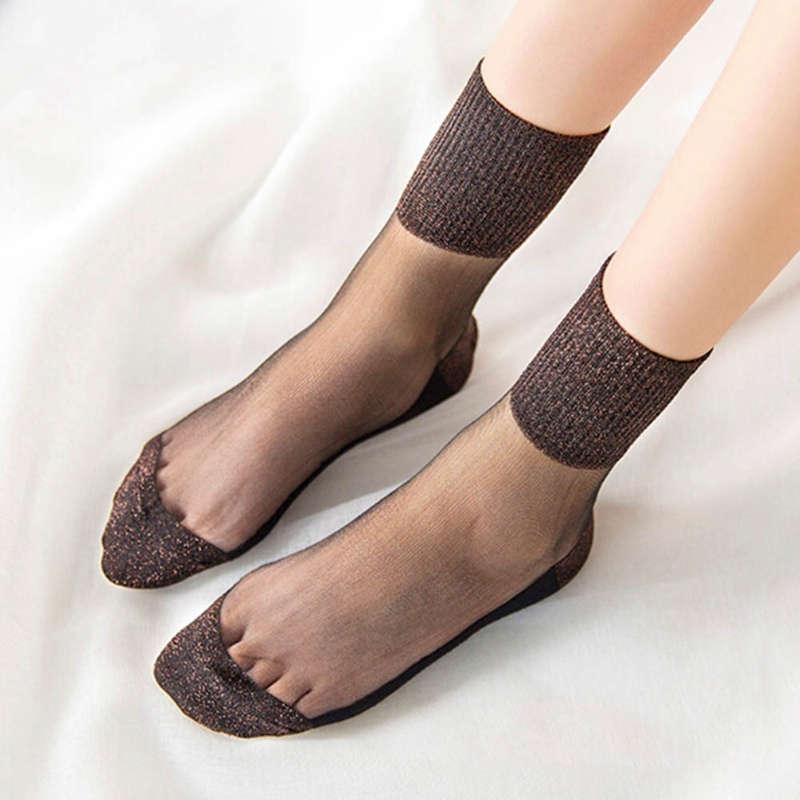 1Pair Sexy Women Socks Mesh Summer Hosiery Sock Japanese Style middle crystal glass fashion socks