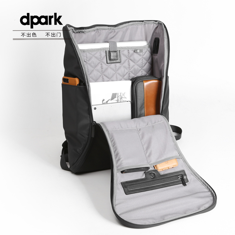 D-park Backpacks For MacBook Or Under 15.6 Inch Laptop Unisex Waterproof Back Pack Travel School Shoulder For Apple Laptop Bag original a1706 a1708 lcd back cover for macbook pro13 2016 a1706 a1708 laptop replacement