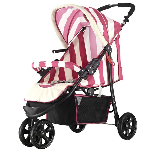 0-3 anos de idade do bebê confortável amortecimento triciclo multifuncional carrinho de bebê portátil
