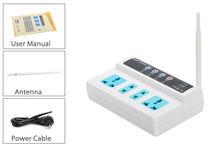 ЕС Plug GSM Дистанционное Управление Удлинитель/4 Розетки GSM Электрические Розетки Полосы мобильного телефона пульт дистанционного управления gsm гнездо