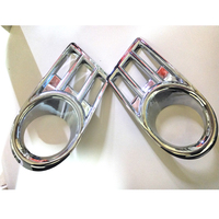 Free Shipping High Quality ABS Chrome Front Fog lamps cover Trim Fog lamp shade Trim For Suzuki Swift