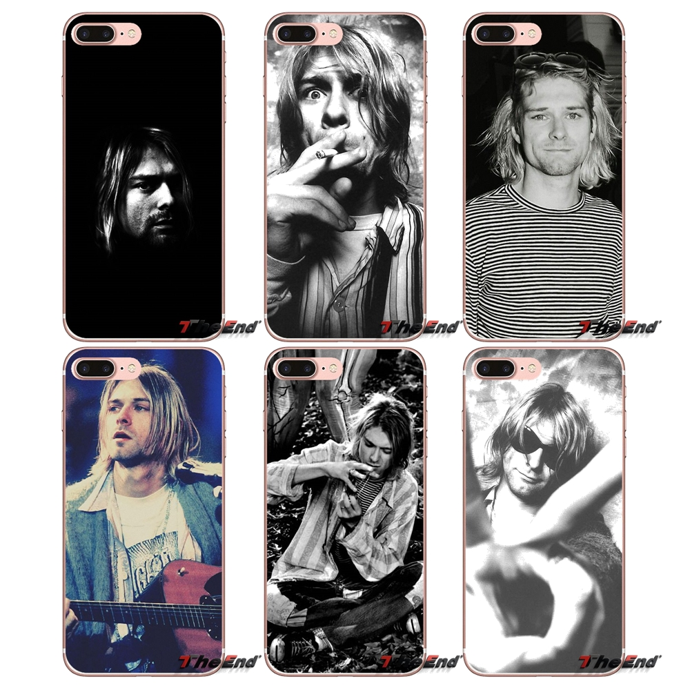 Kurt Cobain Nirvana Rock Bands UK TPU Case For Huawei G7