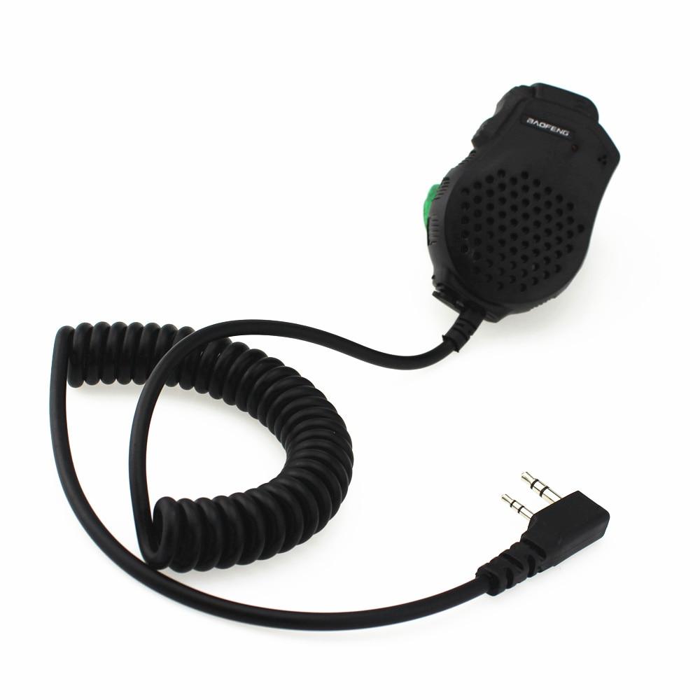 6Pcs Baofeng Dual PTT Speaker Mic Microphone For Baofeng UV-82 Two Way Radio UV-82L UV-8D UV-89 UV-82HP Walkie Talkie Accessorie