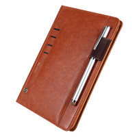 Fashion Smart Case Cover For IPad Mini 4 Luxury Flip Leather Case Tablet Stand Cover For