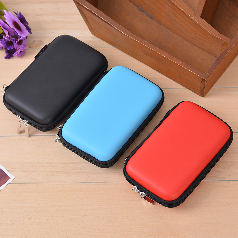 Image 4 - 1 PC Headphone Storage Bag Data Cable Storage Bag-in Storage Bags from Home & Garden