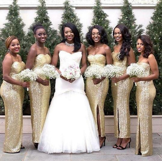 Sparkly Bridesmaid Dresses Online - Wedding Dress Ideas