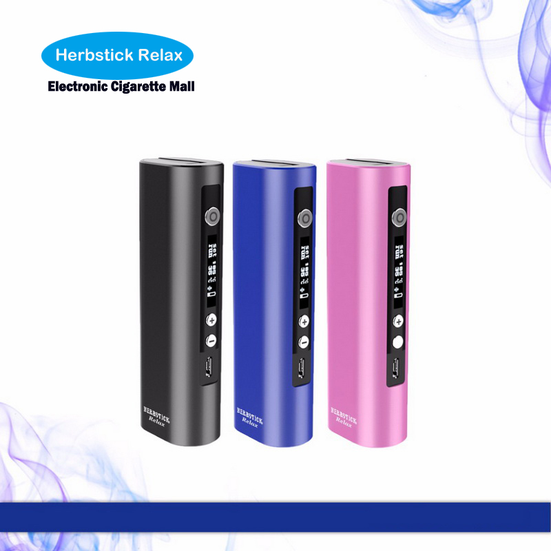 Original herbstick Vaporizer dry herb vaporizer mod Kepen temperature control vs herbstick deluxe Dry Herb Portable ECO vapor newest and hotest product e cig vapor mod god 180s with 220w box mod dry herb smy god 180s mod
