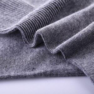 Image 4 - 5 paren/partij Mannen Sokken Katoen Lange Goede Kwaliteit Business Harajuku Diabetische Pluizige Sokken Meias Masculino Calcetines geen doos