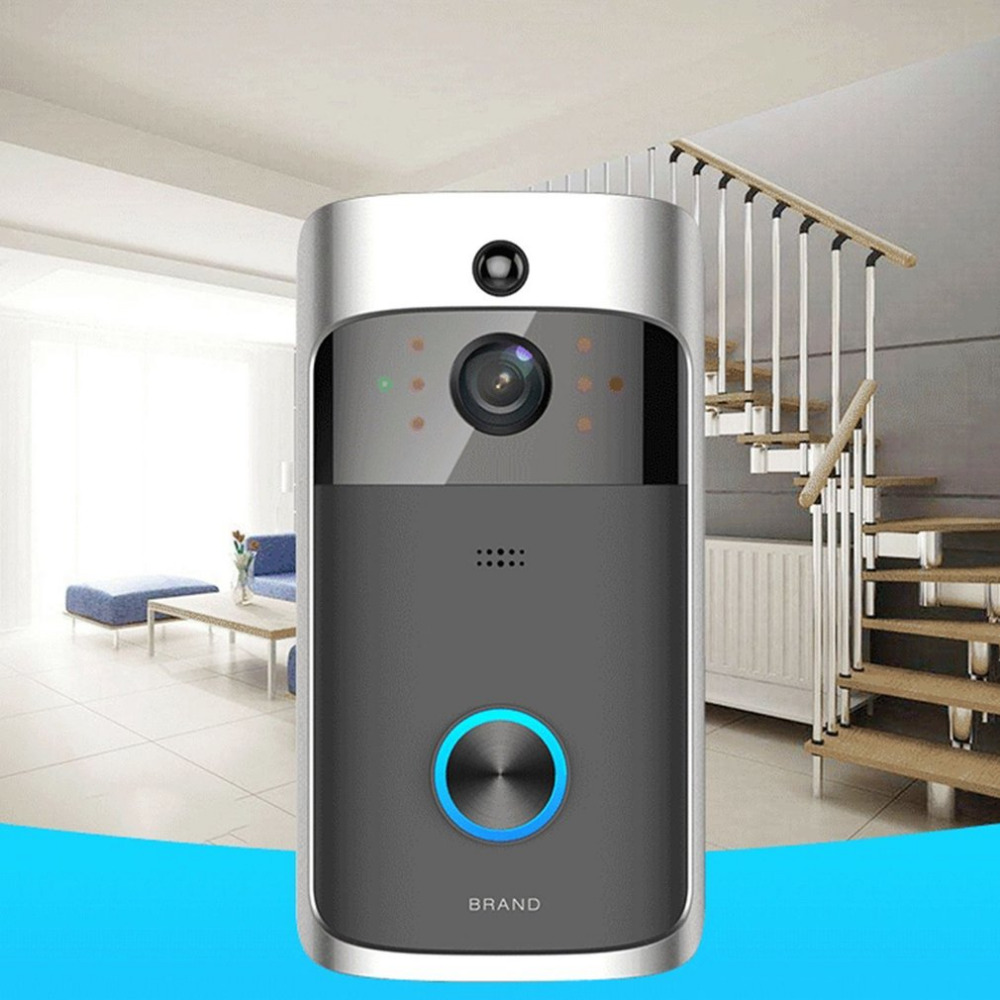 M3 Wireless Video Doorbell WIFI Remote Intercom Detection Electronic Home Security HD Visible Monitor Night Vision Doorphone 7 inch video doorbell tft lcd hd screen wired video doorphone for villa one monitor with one metal outdoor unit night vision
