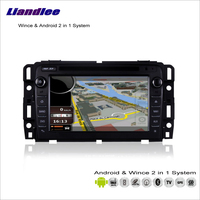 Liandlee For GMC Acadia 2012~2013 Car Radio BT CD DVD Player GPS Nav Navi Navigation Advanced Wince & Android 2 in 1 S160 System