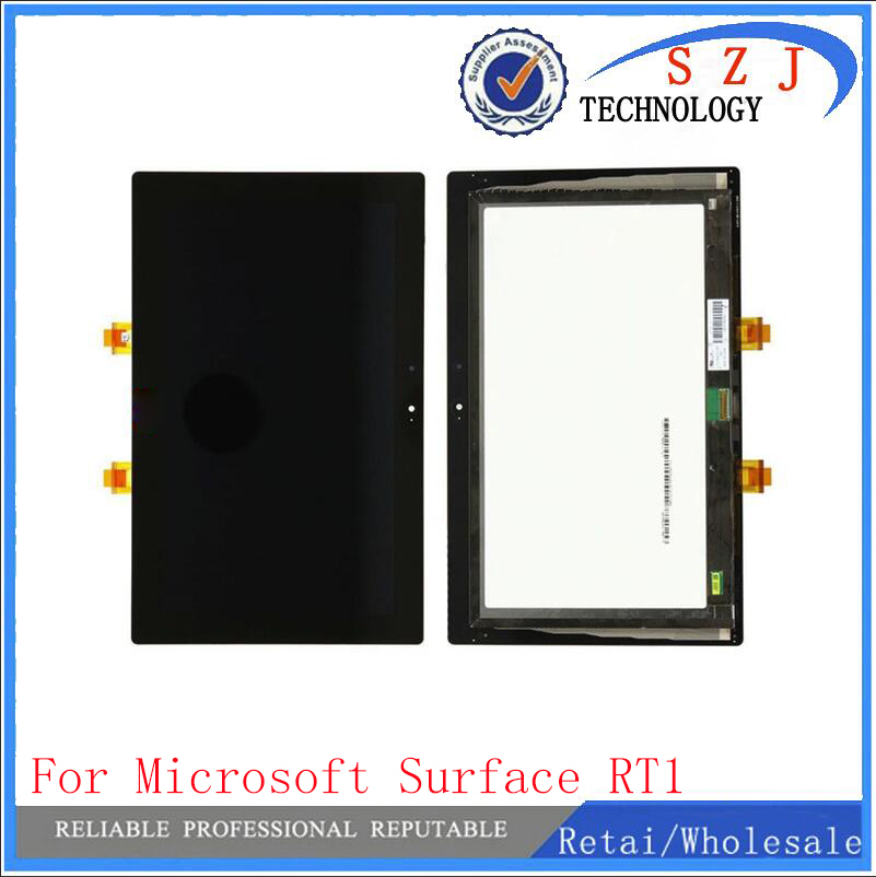 New 10.6'' inch LCD For Microsoft Surface 1 1st Gen RT1 Windows RT LCD Display With Touch Screen Digitizer Assembly Replacement replacement new lcd display touch screen assembly for microsoft surface rt 1516 black free shipping