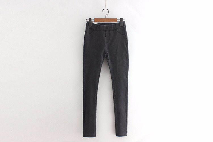BIVIGAOS Basic Skinny Womens Jeans Ankle Pencil Pants Slim Elastic Denim Pants Jean Leggings Female Cotton Jeggings Jeans Women 51