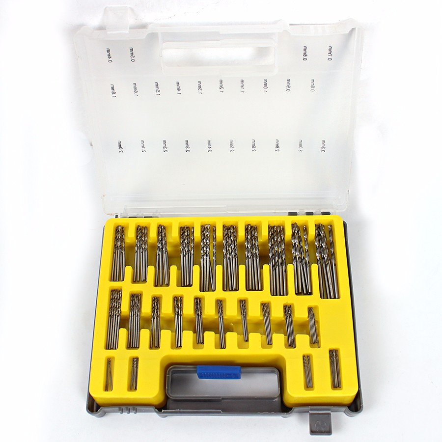 0.4mm-3.2mm 150Pcs Mini Twist Drill Bit Kit HSS Micro Precision Twist - Broca - foto 2