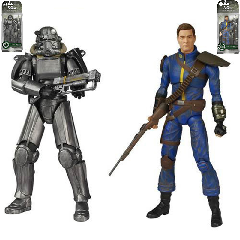6/'/' Power Armor Style Model PVC Fallout 4 Collectible Action FigureHot Toy Gift