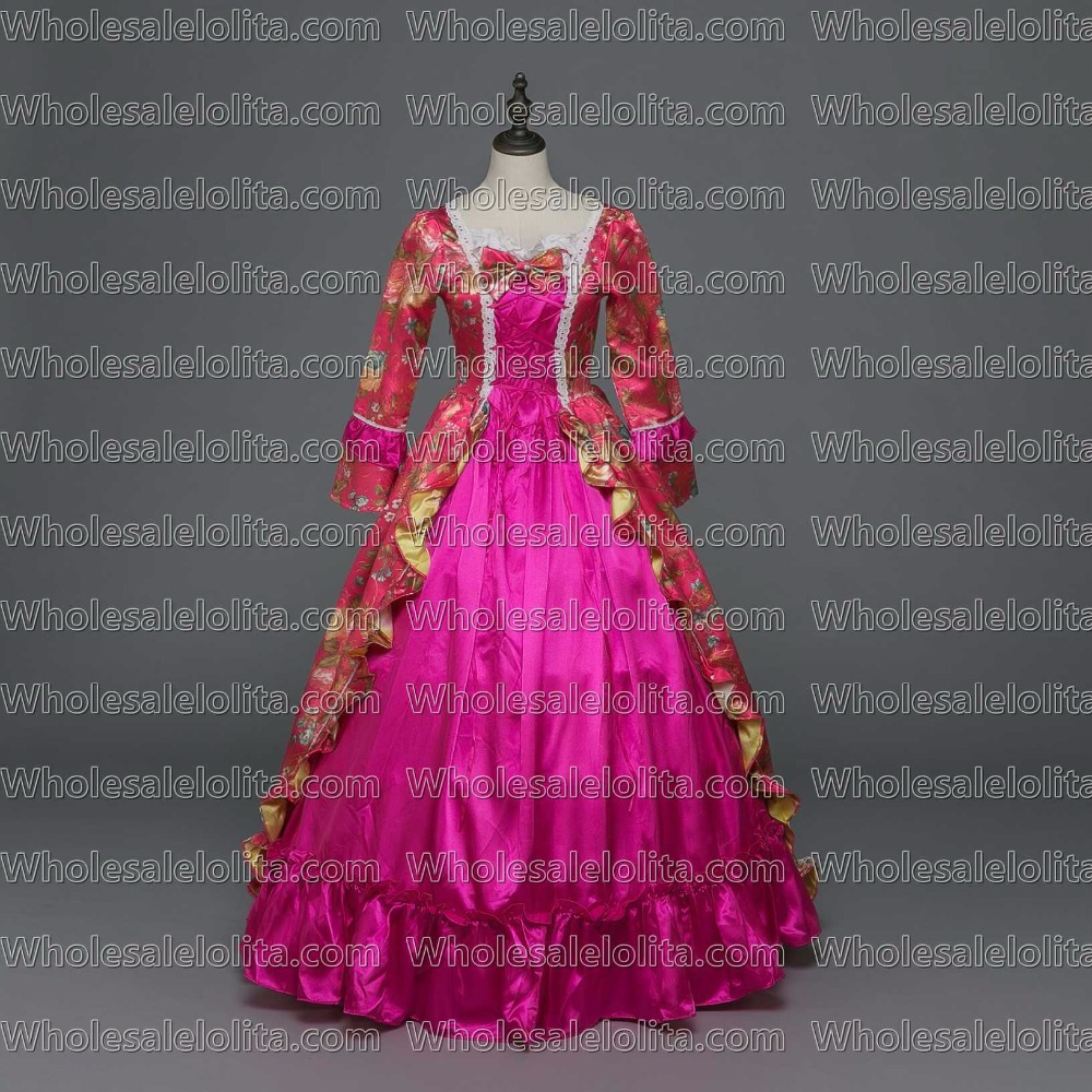 New Holiday Marie Antoinette Dress Gothic Period Medieval Clothin ... ac8f4c535360