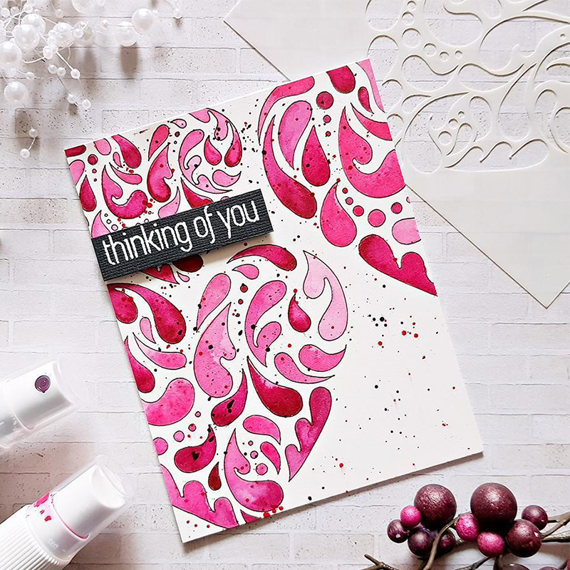 Love Heart Lace Frame Handmade Paper Card Making Album Embossing Scrapbooking