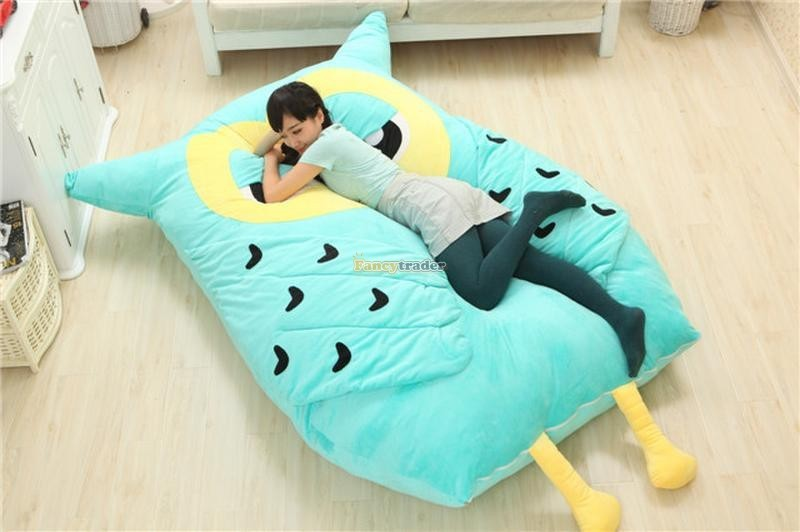 Fancytrader 200cm X 150cm Huge Giant Cute Hoot Owl Tatami Bed Carpet Sofa, Gift For Girls, Free Shipping FT90291 (7)