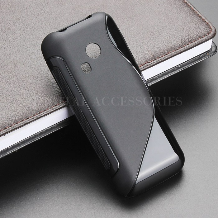 6 Color S-Line Anti Skidding Gel TPU Slim Soft Case Back Cover For <font><b>Nokia</b></font> <font><b>220</b></font> Mobile Phone Rubber silicone Cases image