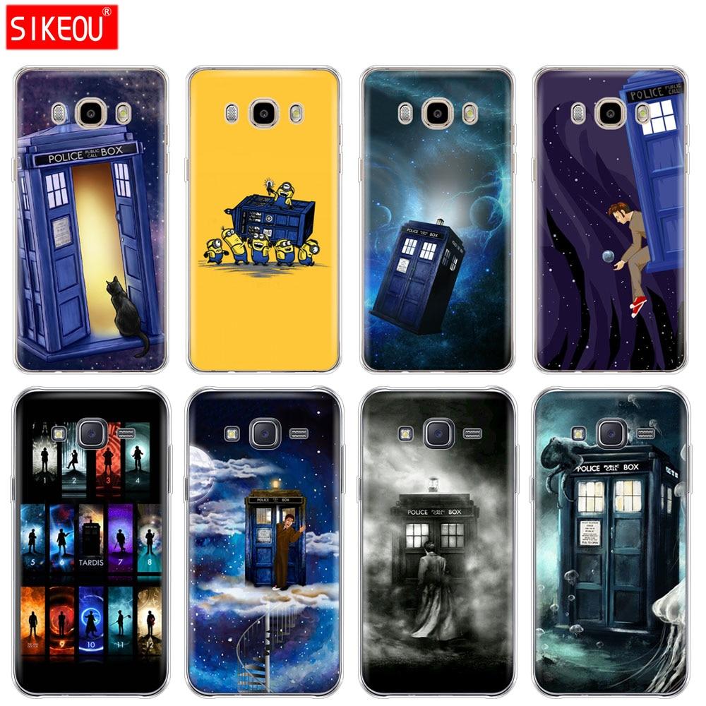 Tardis Box Doctor Who Hard Phone Cover Case For Samsung Galaxy J1 J2 J3 J4 J5 J6 J7 2015 2016 2017 Prime Cellphones & Telecommunications Half-wrapped Case