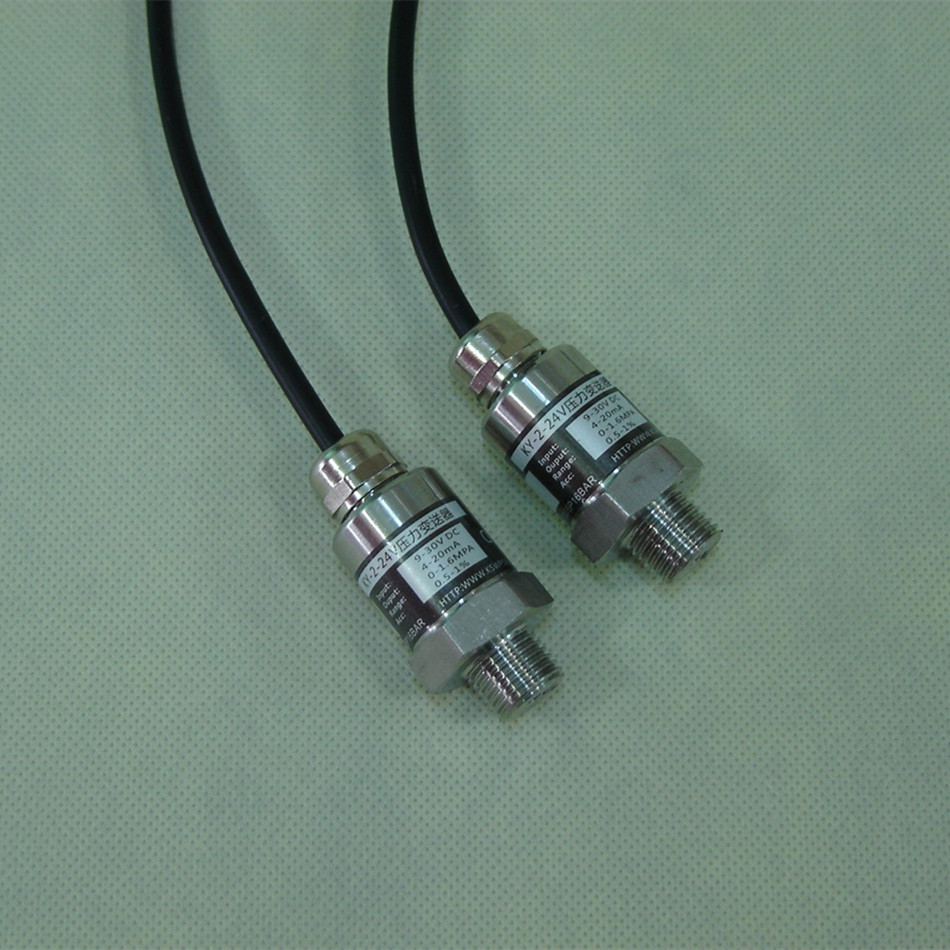 Pressure Sensor Frequency Conversion Pump Water Pressure Sensor Two-wire Waterproof Lead Range 0-1.6 Mpa