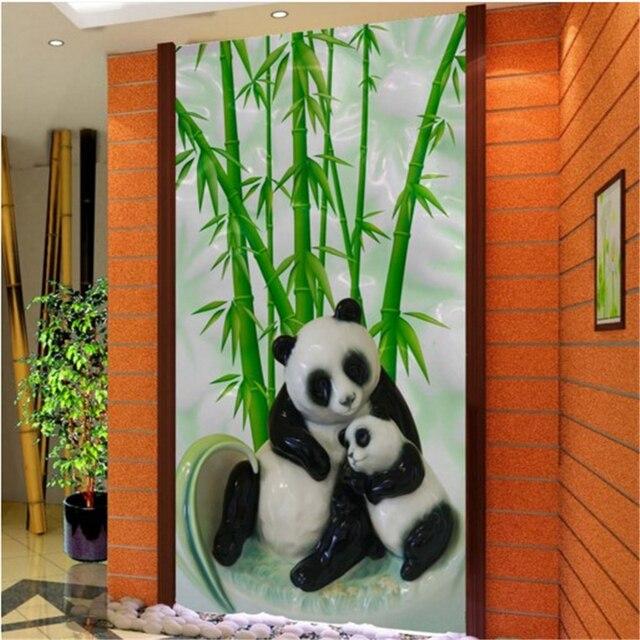 Beibehang Grosse Eigene Tapete Chinesischen Bambus Panda Bambus