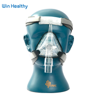 BMC NM1 Nasal Mask For CPAP Machine Use Sleep Snoring OSAS Therapy Size SML With Belt Cushion Clips Easy Cleaning Connect Hose