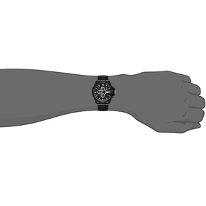 Image 5 - Cagarny Mens Quartz Analog Watch Luxury Fashion Sport Wristwatch Waterproof Black Stainless Male Watches Clock Relogio Masculino