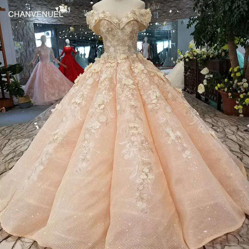 LSS168 girls prom dress ball gown off the shoulder sweetheart pink women occasion dress curve shape real photos free shipping