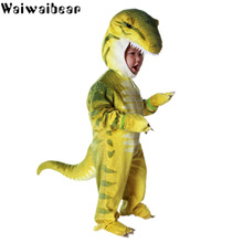 Baby Kids High Quality Cosplay Costume Sets Halloween Party Boys Girls Jumpsuit Child New Dinosaur Fancy