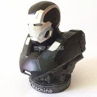 23 см Мстители 3 Бесконечная война Железный человек фигурку MK2 War Machine Смола Бюст War Machine Модель Цифры статуя коллекции подарок
