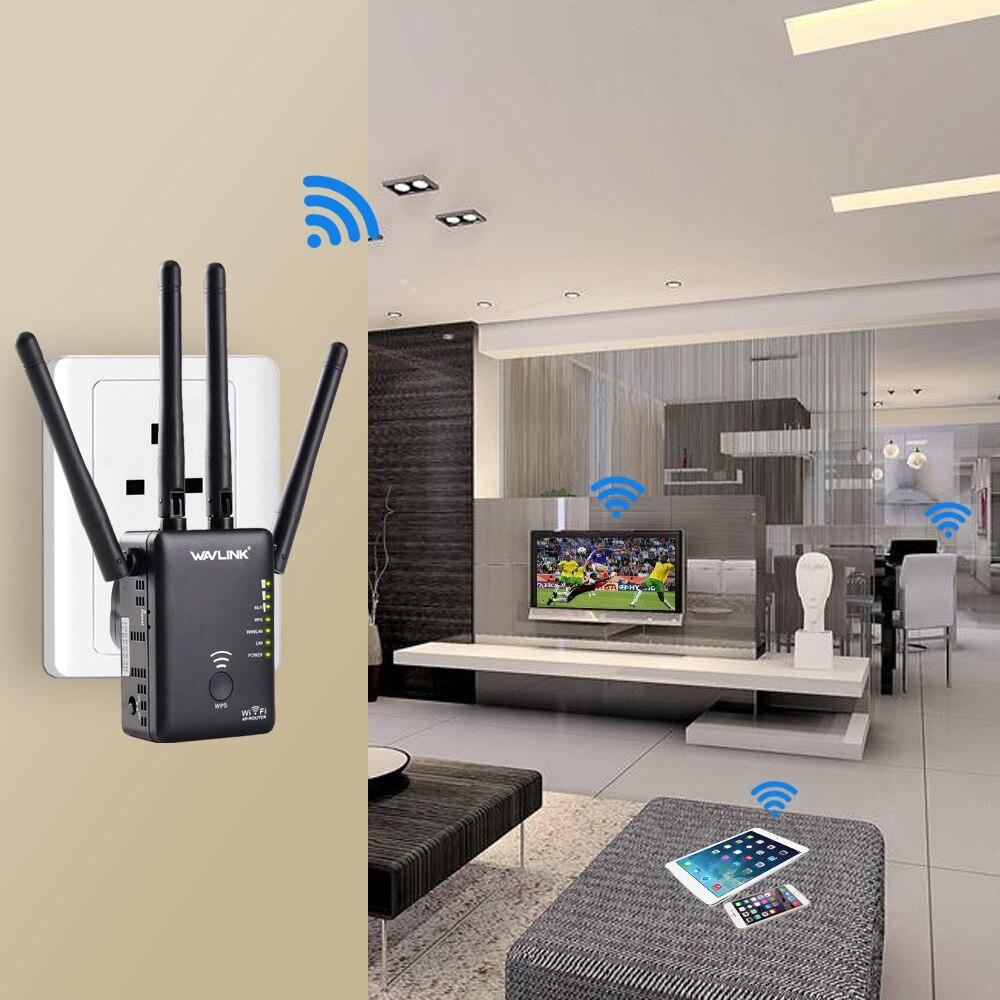 Wavlink AC1200 WiFi repetidor/Router/punto de acceso inalámbrico wi-fi Range Extender WiFi amplificador de señal con antenas externas caliente - 5