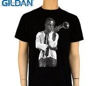 GILDAN T Shirt New short Miles Davis Trumpeter Style Musician O-Neck Short-Sleeve Mens T Shirts