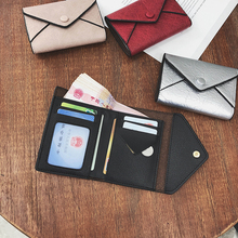 2019 Fashion Womens Wallets PU Leather Mini Wallet Billetera Mujer Luxury Small Casual Ladies Purse Coin Card Carteira