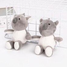 Creative Tree Koala Plush Toy Cute Stuffed Animal Childrens Bag Small Pendant Car Key Chain Hanging Gift
